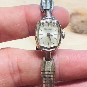 Vintage Bulova 10K Rolled Gold Duchess Watch